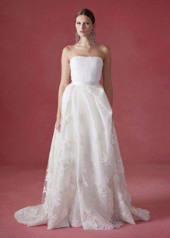 Приталенное  платье свадебное
