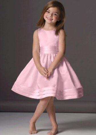 Пышное платье для полных девочек