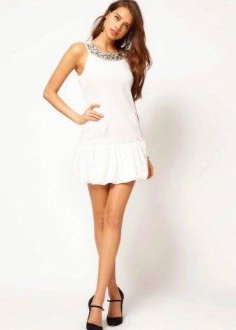 Белое платье для подростков