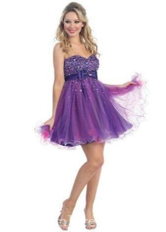 коктейльное платье из органзы