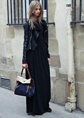 Длинная юбка полусолнце на осенне-весенний период