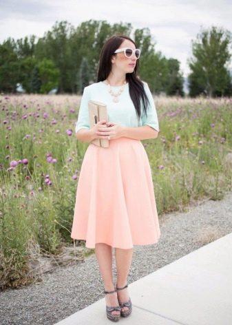 Струящаяся юбка макси