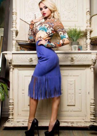 Любительница юбок