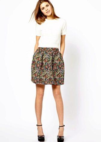 49417b1e30a2 Фасоны юбок (262 фото): модные и популярные модели, как подобрать ...