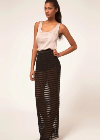 6f8a83aa2b7 Прозрачные юбки (89 фото)  длинные и короткие