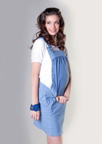 Фото беременных под юбкой