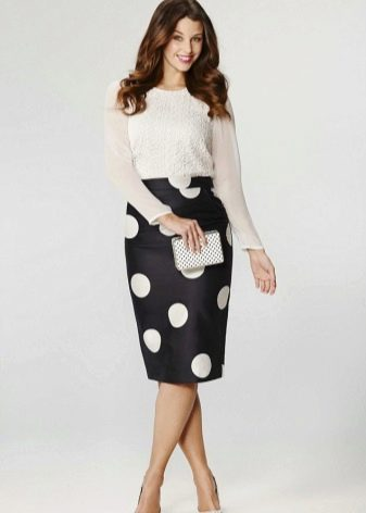 фото юбка с блузкой