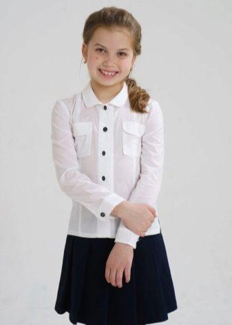 Блузки Рубашечного Типа