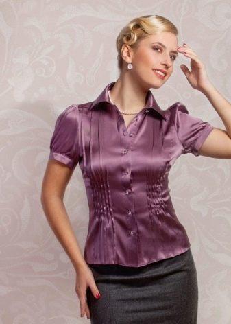 847cb9b4b82 Но шелковые блузки являются прекрасным вариантом для делового стиля