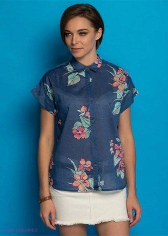 3066ed72fe5 Есть блузки в стиле кэжуал без рукавов или с коротким рукавом