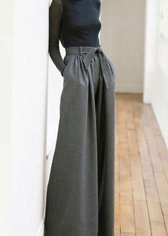 Посмотреть брюки с юбкой