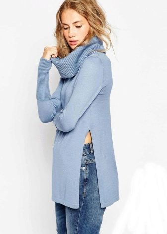 a48a046d938d Вязаный свитер (175 фото): крупной вязки, для девушек на весну ...