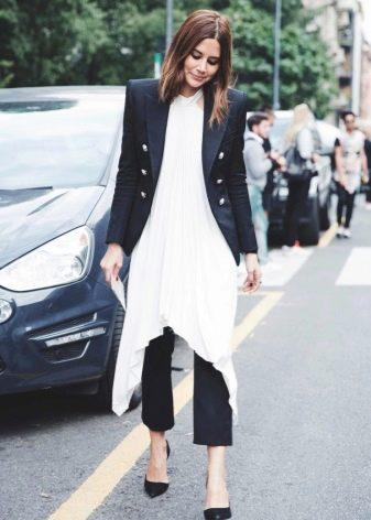 Длинные туники и платья
