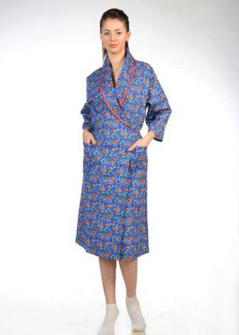 Фланелевый халат