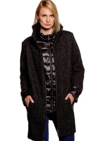 174ffc52b98 Получается нечто среднее между классическим пальто и демисезонной курткой. Фасон  куртки-пальто создан таким образом