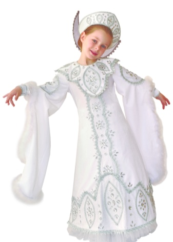 Костюм на Новый год для девочки (158 фото): вязаный костюм снегурочки, снежинки, белочки, елочки, феи, русалочки и других персонажей