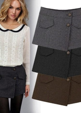 teplye-shorty-10 Теплые шорты (62 фото): зимние вязаные и шерстяные модели, утепленные, из верблюжьей шерсти, модные шорты осень-зима 2019-2020