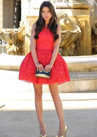 26bbf56ef08 Туфли к красному платью (55 фото)  какие колготки надеть