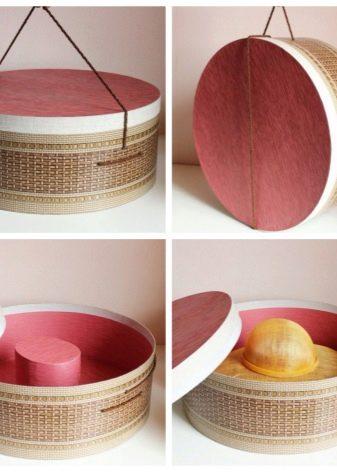 Коробки для шляп своими руками