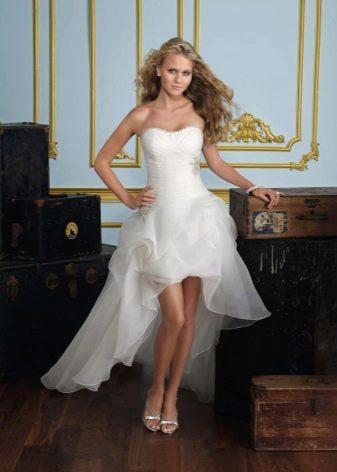Свадебное платье с корсетом (60 фото): как правильно зашнуровать пышные модели с прозрачным корсетом