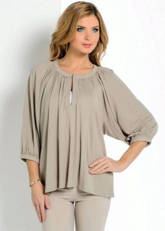 682041f907d Моделирование рукава блузки. Реглан можно смоделировать на основе выкройки  прямой женской ...
