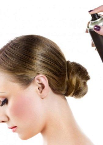 Бублик на волосы фото