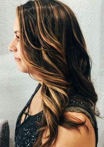 Тонирование мелированных волос до и после