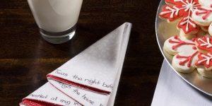 Как красиво сложить салфетки для новогоднего стола?