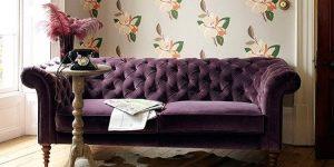Мебельный велюр: характеристика и рекомендации по уходу