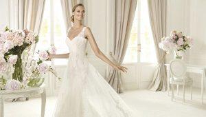 Длинное свадебное платье мечты - какое оно?