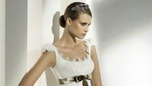 Схемы для свадебных платьев, вязаных крючком