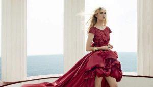 Вечерние платья, короткие спереди и длинные сзади