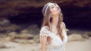 Отделка корсета и свадебного платья
