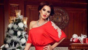 Вечерние платья на Новый год 2016