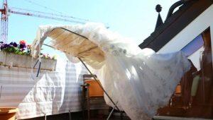 Как постирать свадебное платье?