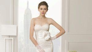 Пояс в свадебных платьях