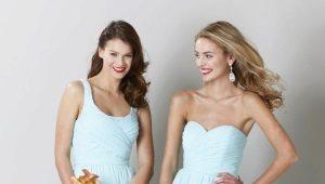 Голубое платье – создай эффектный яркий или нежный образ