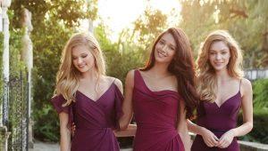 Платья цвета марсала - глубина и насыщенность