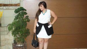 Модные платья для полных женщин маленького и невысокого роста