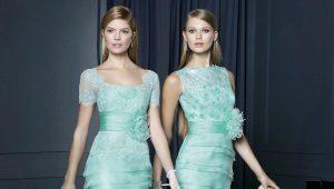 Мятное платье: нотки свежести в образе
