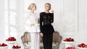 Кружевное платье – воплощение женственности