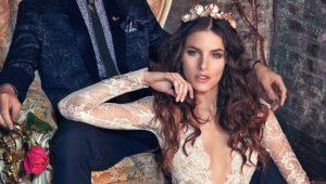 Модные свадебные платья в 2019 году