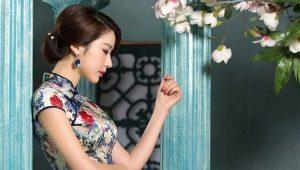 Китайское платье-ципао (платье Чеонгсам)