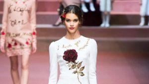 Платье с розами - олицетворение женской натуры