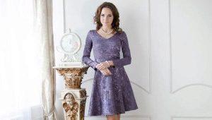 Платье с юбкой полусолнце - кокетливые нотки в образе