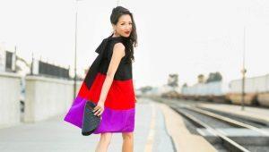 Платье-трапеция – фасон свободы и комфорта