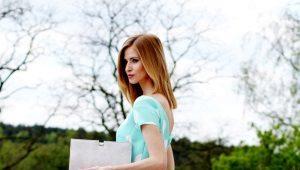 Платья в горошек - очарование и женственность
