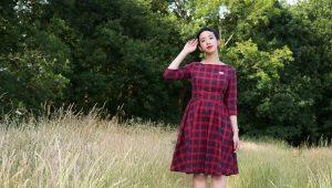 Платье в шотландскую клетку – что в нем особенного?