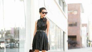 Плиссированное платье: поговорим о модных складках