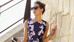 Расклешенные платья – для романтичного образа